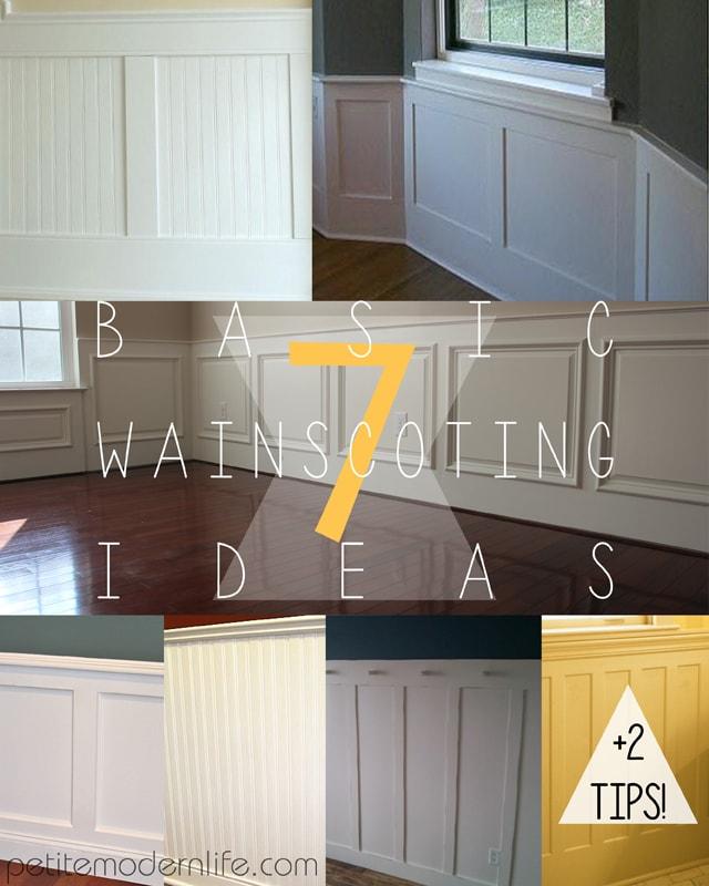 Home Hallway Design Ideas: 7 Basic Wainscoting Ideas