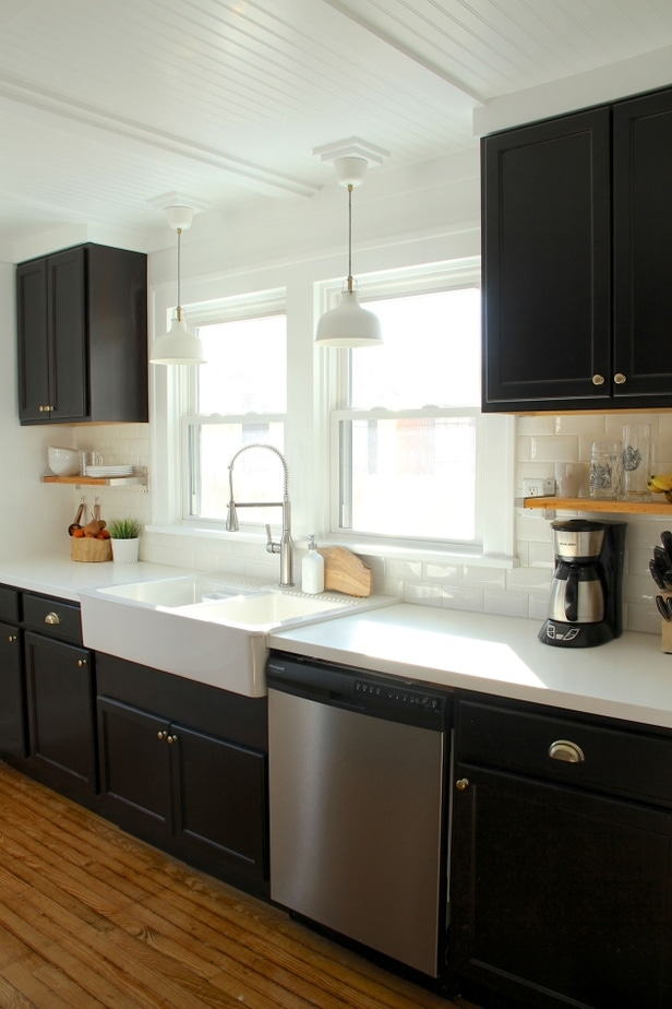 kitchen colours with dark cabinets benjamin black kitchen cabinet colors 21566