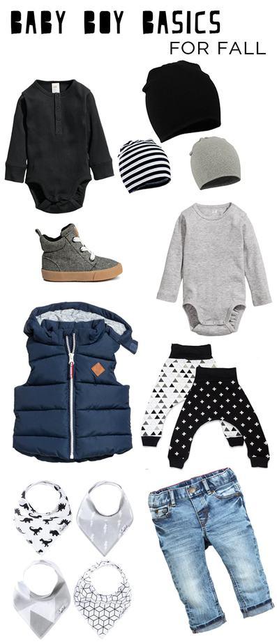 Baby Boy Basics for Fall - Petite Modern Life