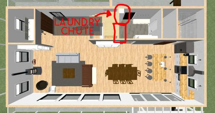 modern farmhouse laundry room 1
